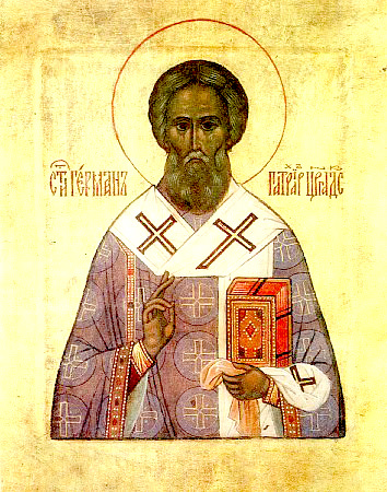 Saint Germain de Constantinople