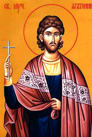 Saint Martyr Agathonique
